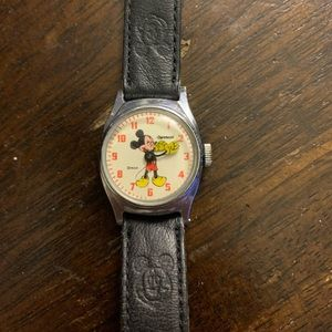 Ingersoll Mickey Mouse watch 1950s